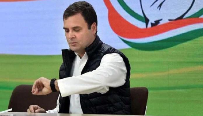 राहुल गाँधी रक्षा मीटिंग