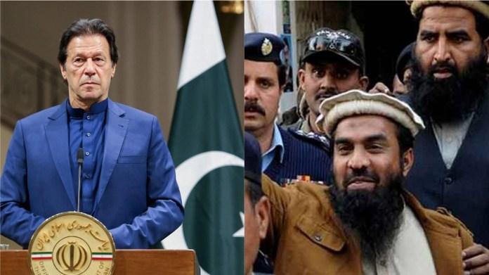 इमरान खान, जकीउर रहमान लखवी