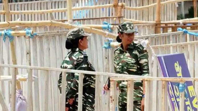 महिला पुलिसकर्मी