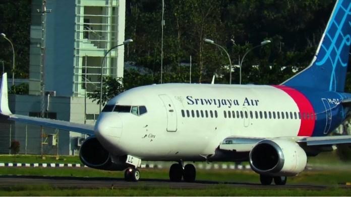 Sriwijaya Air का विमान