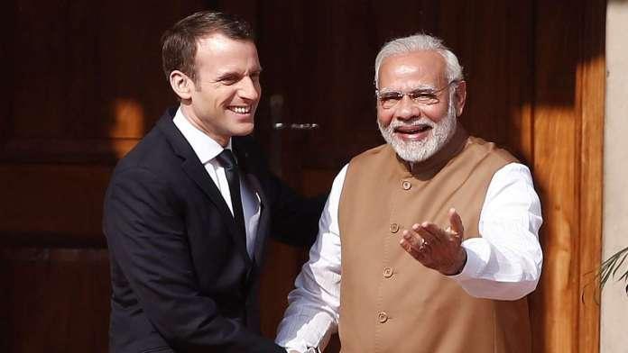 भारत कश्मीर फ्रांस