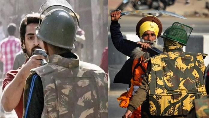 दिल्ली दंगों, किसान आंदोलन
