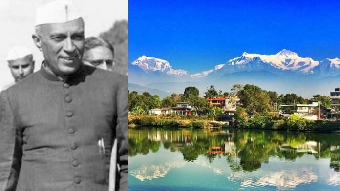 नेहरू, नेपाल, भारत, प्रणब