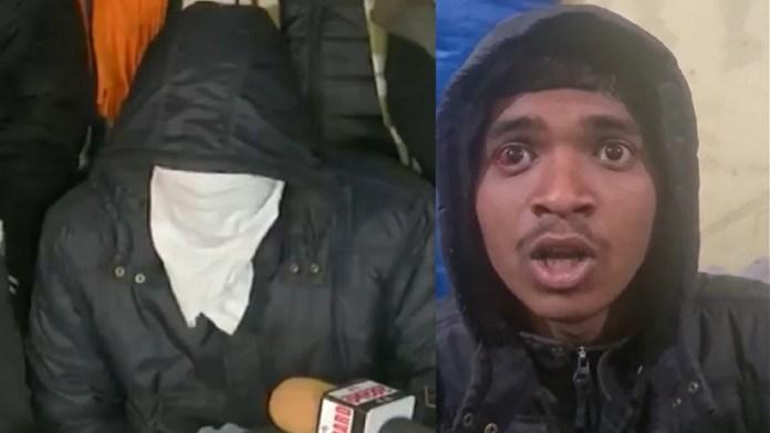 नकाबपोश, किसान नेताओं, दिल्ली पुलिस