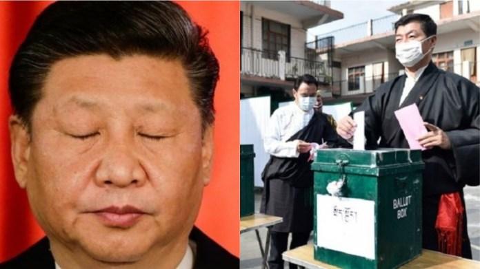 तिब्बत चुनाव चीन