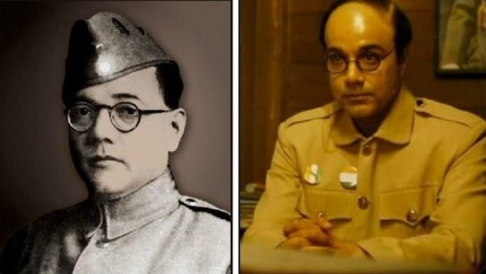 नेताजी की असल तस्वीर और उनका किरदार निभाने वाले प्रसनजीत चटर्जी