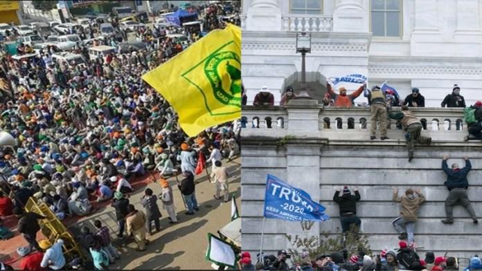 वामपंथी साजिश किसान आंदोलन