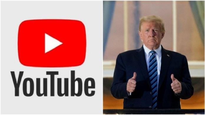डोनाल्ड ट्रंप, यूट्यूब, सोशल मीडिया