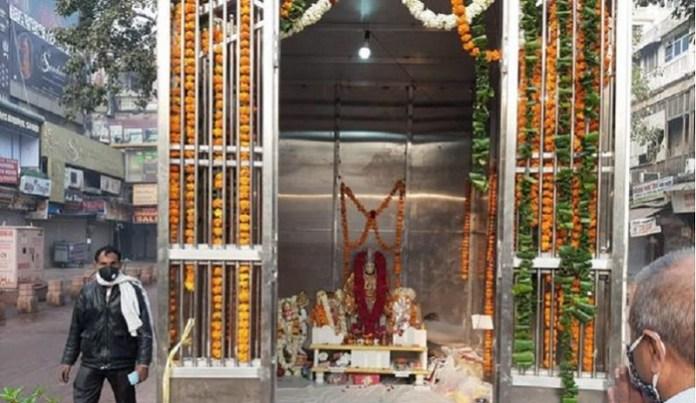 चाँदनी चौक में दोबारा बनाया गया हनुमान मंदिर