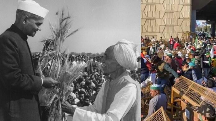 हरित क्रांति, किसान आंदोलन