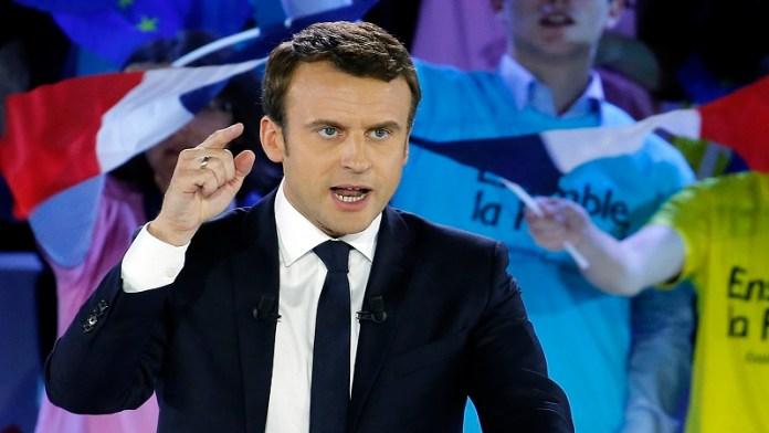 फ्रांस राष्ट्रपति इमैनुएल मैक्रों