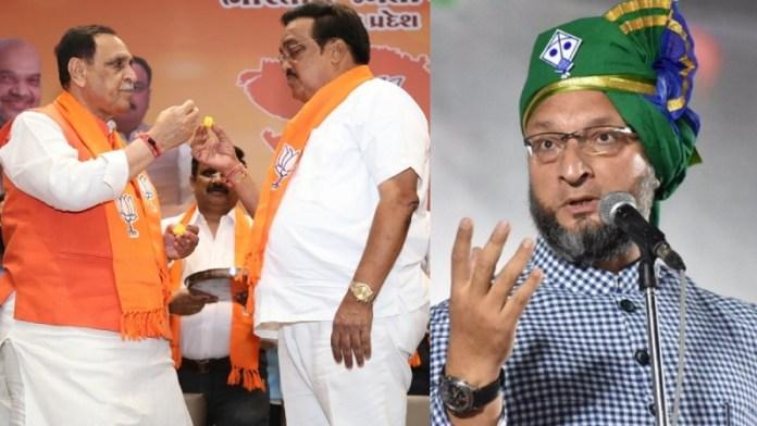 गुजरात पंचायत चुनाव, भाजपा
