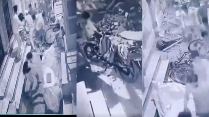 दिल्ली सराय काले खां हिंसा