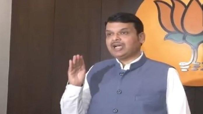 महाराष्ट्र के पूर्व मुख्यमंत्री देवेंद्र फडणवीस