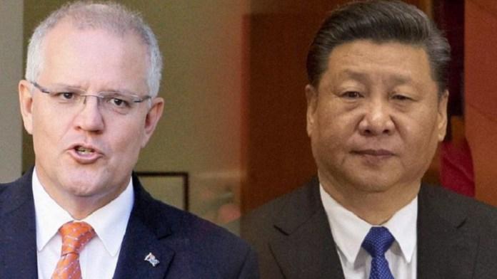 ऑस्ट्रेलिया, चीन