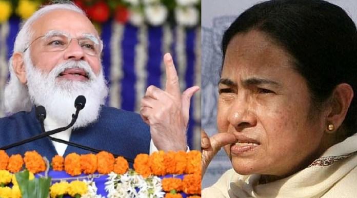 बंगाल चुनाव ममता मोदी
