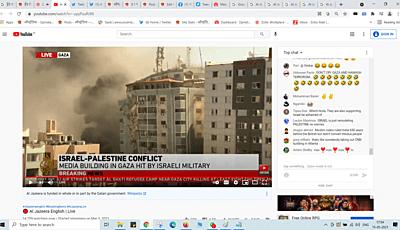 Israel bombed Al Jazeera building, had 1 hour warning: Live Video