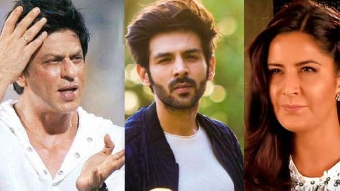 शाहरुख खान, कार्तिक आर्यन, कैटरीना कैफ
