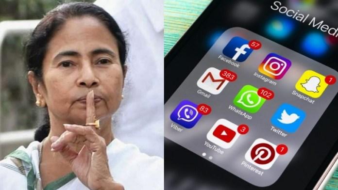 बंगाल, ममता, सोशल मीडिया