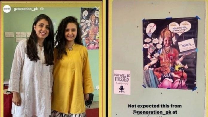 पाकिस्तानी कपड़ा ब्रांड, हिंदू देवी का मजाक