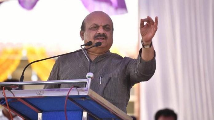 बसवराज बोम्मई, कर्नाटक,मुख्यमंत्री