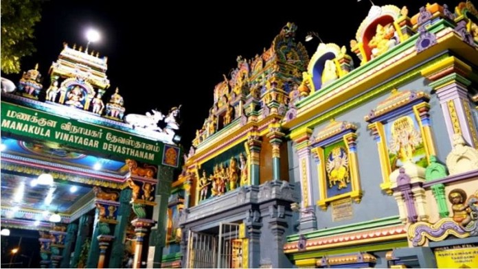 पुडुचेरी का मनाकुला विनायगर मंदिर