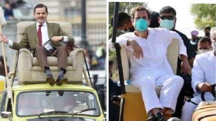 राहुल गाँधी, ट्रैक्टर, संसद