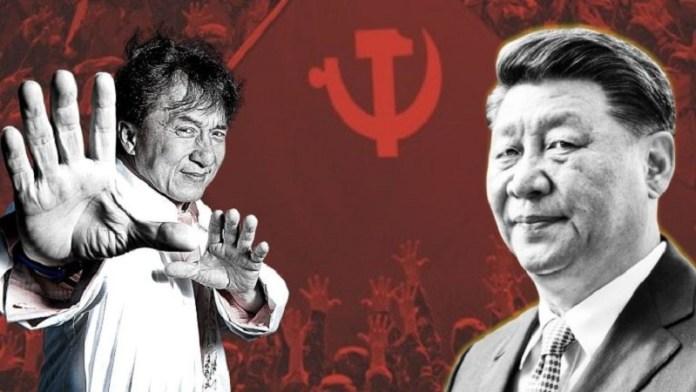 जैकी चैन, चीन, कम्युनिस्ट पार्टी