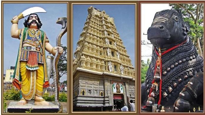 कर्नाटक के मैसूर में स्थित श्री चामुंडेश्वरी मंदिर