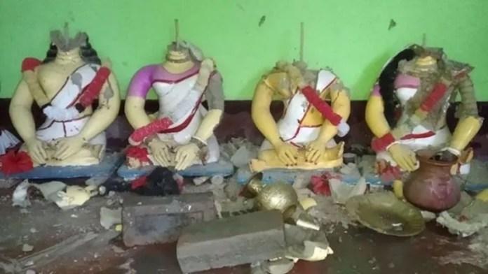 बांग्लादेश मंदिर हिंदू हमला