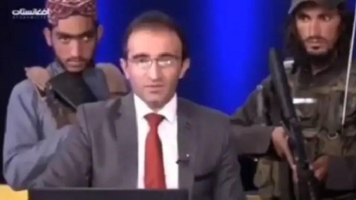 तालिबान, अफगानिस्तान, न्यूज़ एंकर