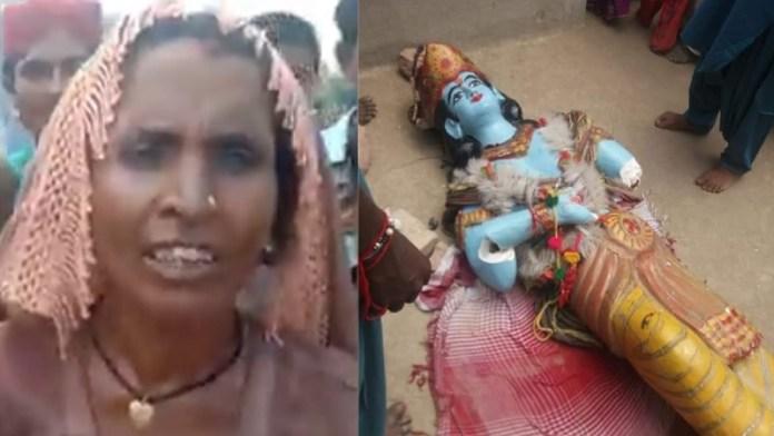 पाकिस्तान, मंदिर, प्रतिमाएँ तोड़ी, वीडियो