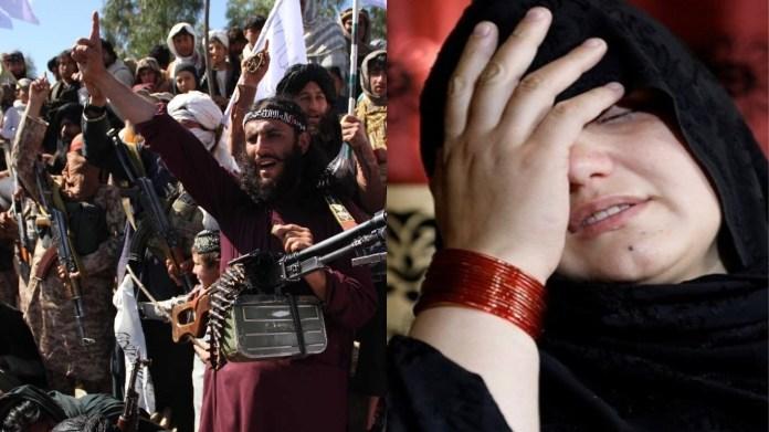 तालिबान अफगानी महिला