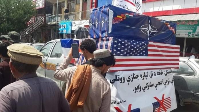 तालिबान, अमेरिका, जनाजा