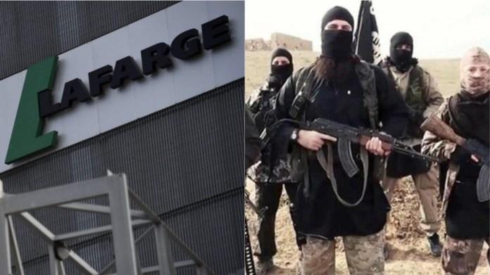 लाफार्ज सीमेंट कंपनी, आतंक वित्तपोषित ISIS