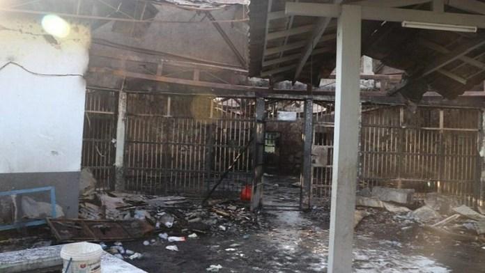 इंडोनेशिया, जेल, आग