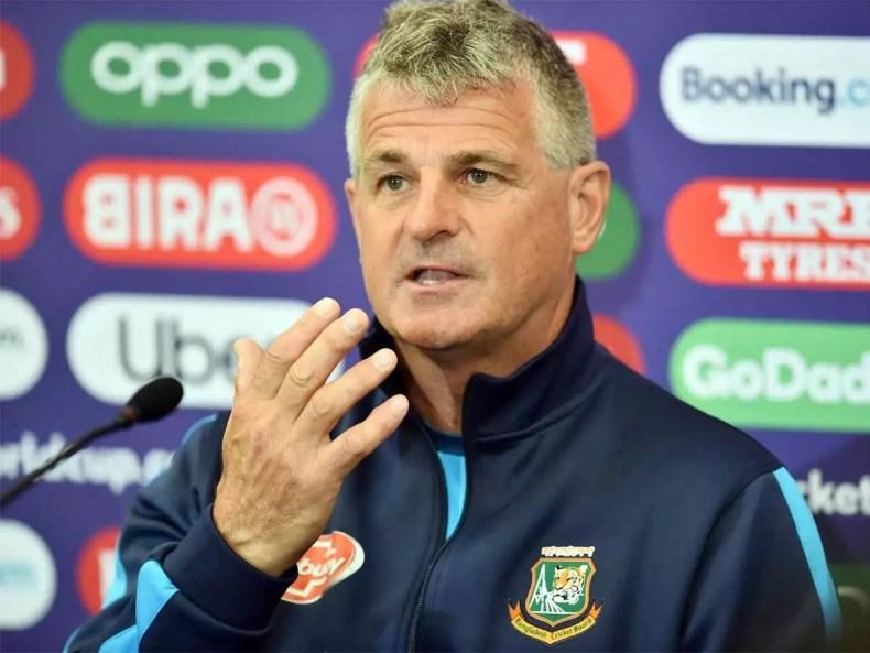 Bangladesh Sack Coach Steve Rhodes