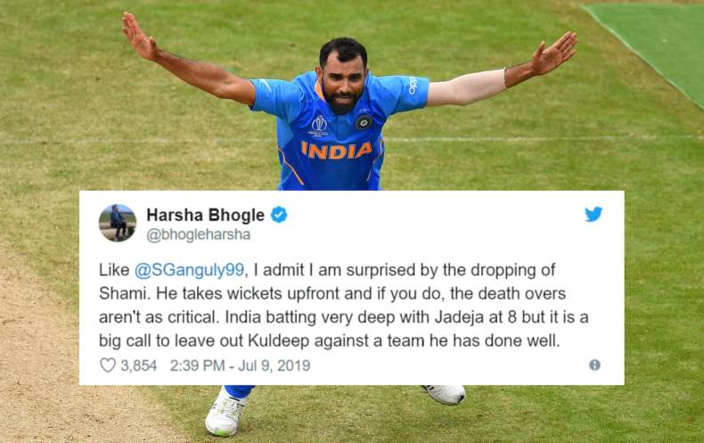 Fans Shocked as Shami not Included in Semi-Final