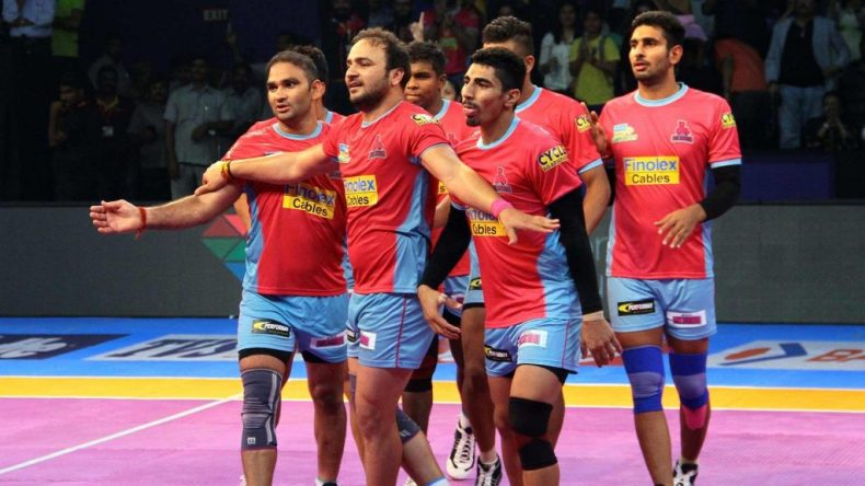 Jaipur Pink Panthers Team Season 7