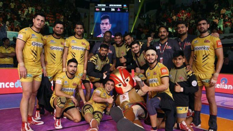 Telugu Titans Team Season 7