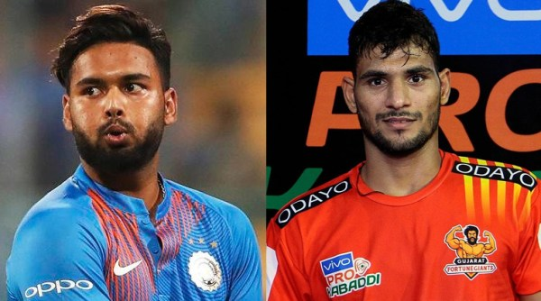 Rishabh Pant and Sachin Tanwar