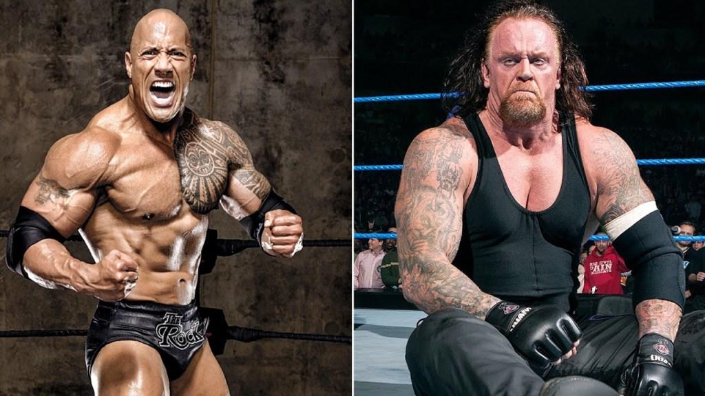Rock vs Undertaker