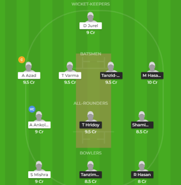 BN-Y vs IN-Y Asia Cup Final Dream11