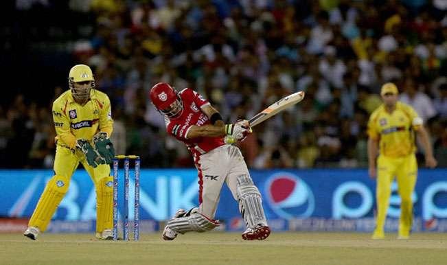 Chennai Super Kings defending 116 against Kings XI Punjab (2009)