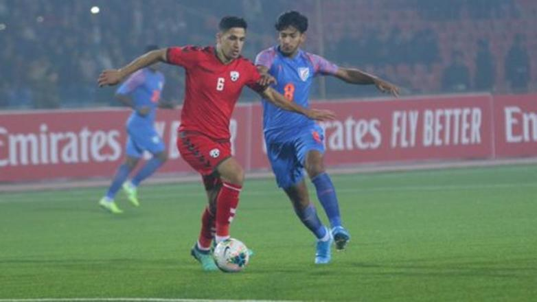 India vs Afghanistan Football Match Report