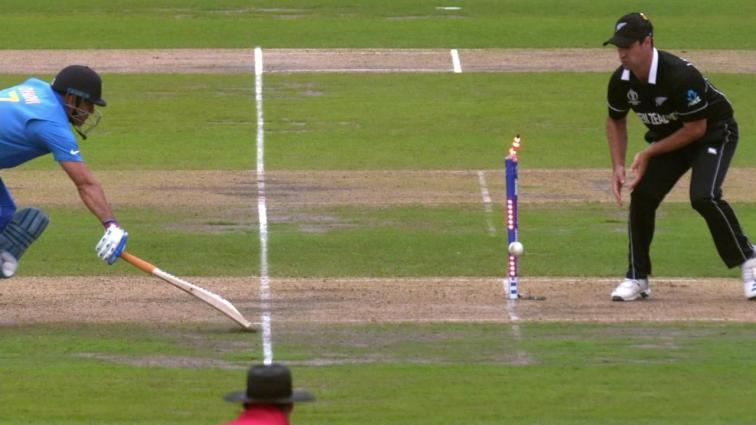 Dhoni Run Out World Cup 2019