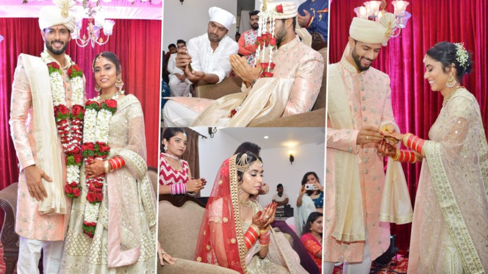 भारतीय आलराउंडर शिवम दुबे ने गर्लफ्रेंड अंजुम खान के साथ किया निकाह, देखें तस्वीरें