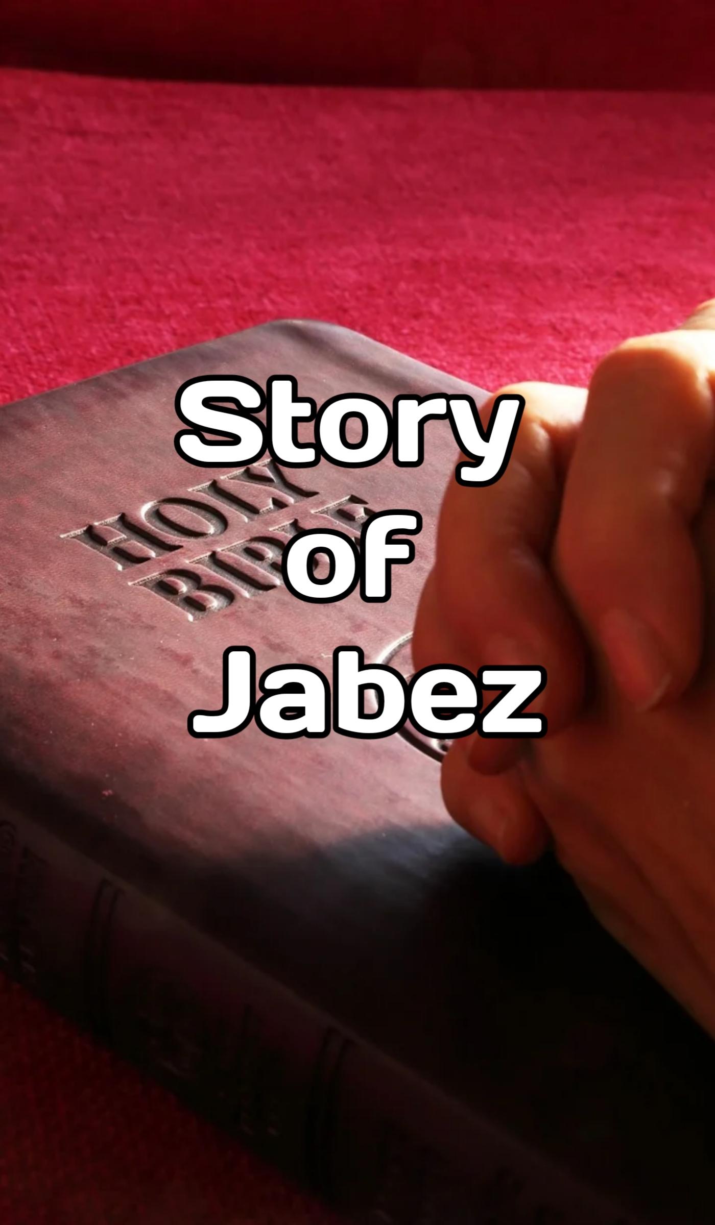 Jabez Story and Prayer in Hindi