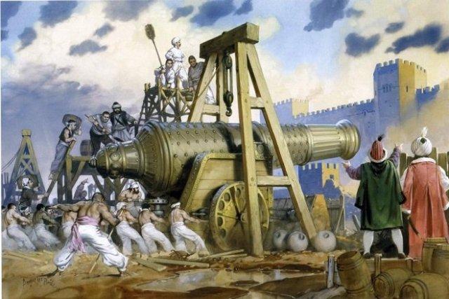 Ottoman Super Cannon