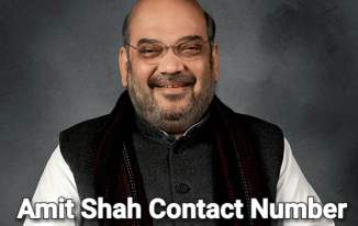 Amit Shah Contact Number